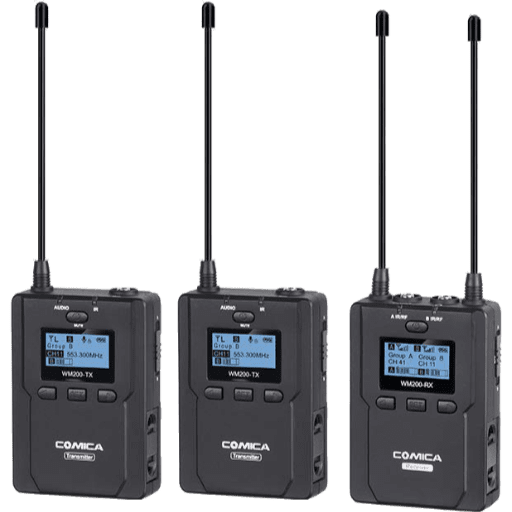 Comica CVM-WM200 Dual Wireless Lav Mic