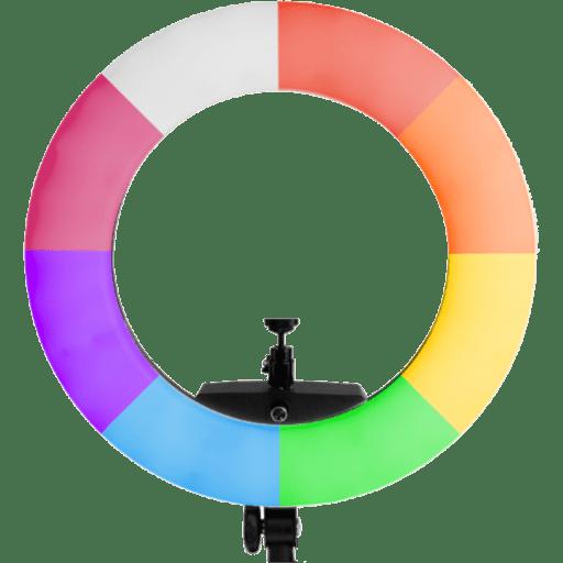 Prismatic RGB LED Ring Light