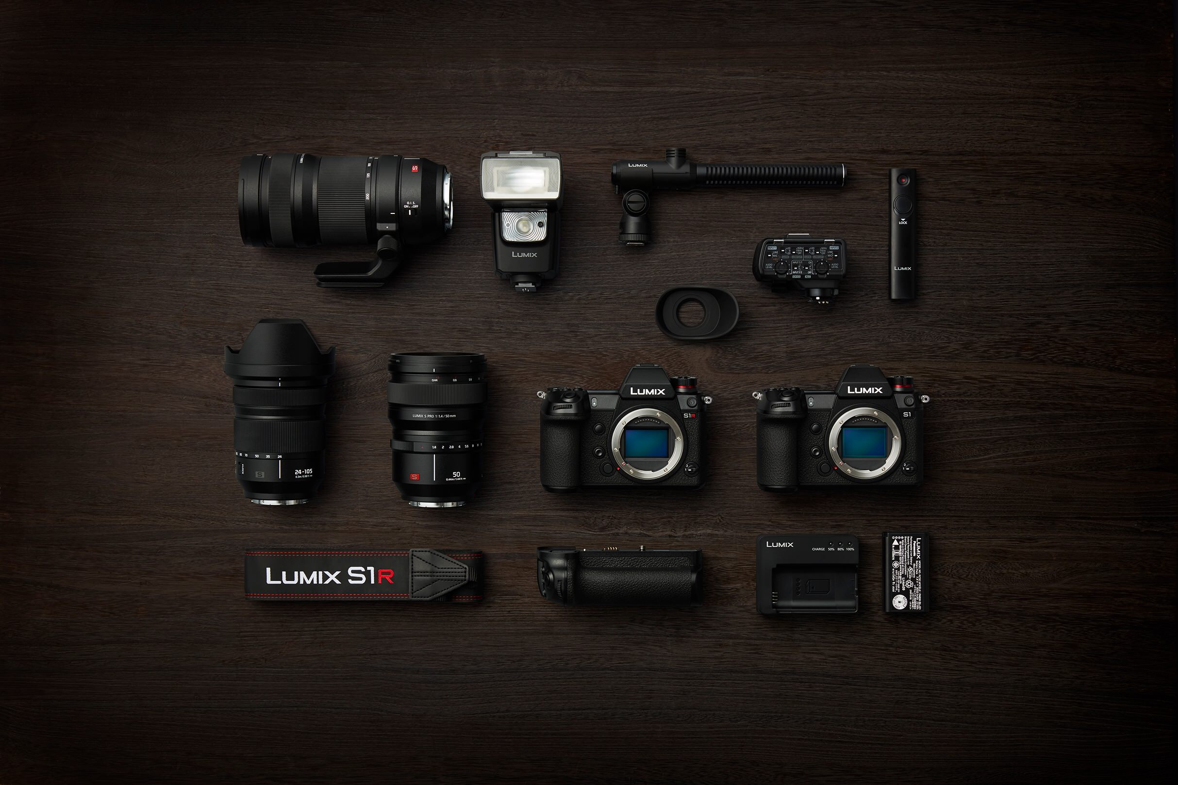 Panasonic LUMIX S1 and LUMIX S1R Full Frame Mirrorless Cameras
